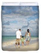 Beach Family Duvet Cover