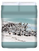 Beach Flock Duvet Cover