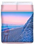 Beach Ghost Duvet Cover