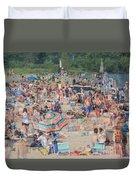 Beach Ghosts Duvet Cover