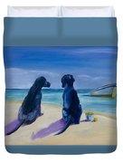 Beach Girls Duvet Cover