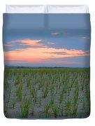 Beach Grass Farm Duvet Cover