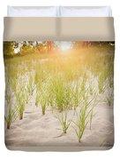 Beach Grasses Number 3 Duvet Cover