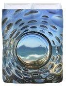 Beach Life Through The Looking Glass Duvet Cover