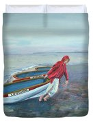 Beach Lifeguard Duvet Cover