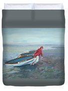 Beach Lifeguard Duvet Cover