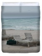 Beach Loungers Duvet Cover