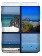 Beach Multiples Duvet Cover