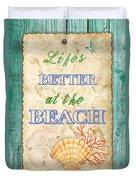 Beach Notes-jp3761 Duvet Cover