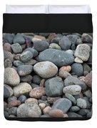 Beach Of Stones Duvet Cover