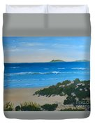 Beach On The North Coast Of Nsw  Duvet Cover