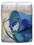 Beach Pail Pal Duvet Cover