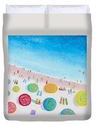 Beach Painting - Beach Bliss Duvet Cover