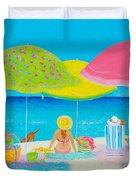 Beach Painting - Beach Life Duvet Cover