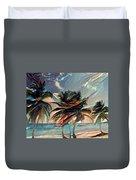 Beach Palms - Multi 9a Duvet Cover