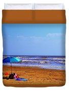 Beach Picnic Duvet Cover