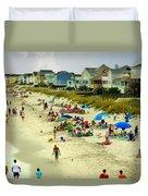 Beach Play Duvet Cover