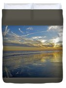 Beach Reflections Duvet Cover