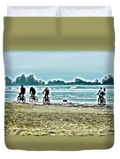 Beach Ride Duvet Cover