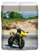 Beach Road Buell Duvet Cover