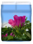 Beach Rose Duvet Cover