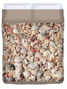 Beach Seashells Duvet Cover