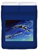 Beach Sinuosity Duvet Cover