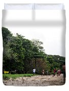 Beach Soccer 3 Duvet Cover