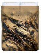 Beach Still Life Duvet Cover by Susanne Van Hulst