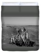 Beach Stump Duvet Cover