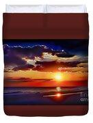 Beach Sunset 5184 Duvet Cover