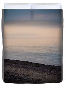 Beach Sunset Duvet Cover