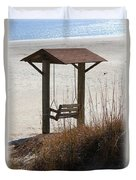 Beach Swing Duvet Cover