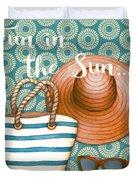 Beach Time-jp3618 Duvet Cover