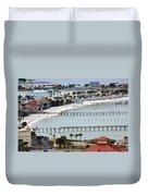 Beach Town Duvet Cover