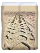Beach Tracks Duvet Cover
