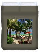 Beach Vacation Duvet Cover