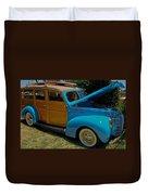 Beach Wagon Duvet Cover