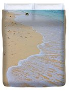 Beach Water Curves Duvet Cover