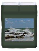Beach Waves001 Duvet Cover
