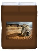 Beach Zebra Duvet Cover