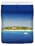Beachcomber Island Duvet Cover