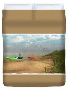 Beached... Duvet Cover