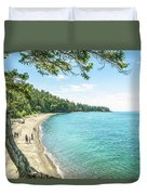 Beaches Of The Pacific Northwest Duvet Cover