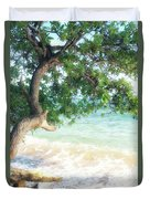 Beachscape Tree Duvet Cover
