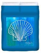 Beachside Shell Duvet Cover