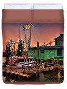 Beacon 1 Seafood Duvet Cover