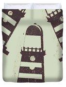 Beacon Buttons Duvet Cover