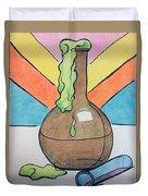 Beaker Duvet Cover by Loretta Nash