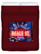 Beale Street Home Of The Blues Duvet Cover